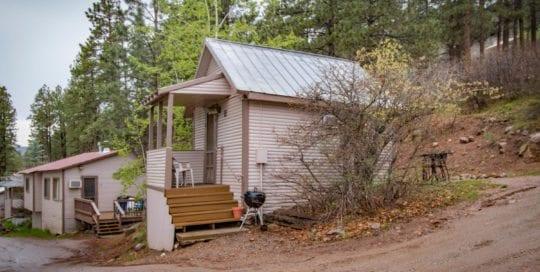 Cabin 11 exterior.